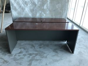 Desks - BRAND NEW - Cherry finish. - take today! for Sale in Miami, FL