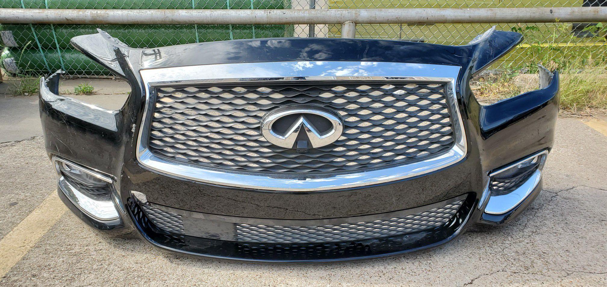 2016-19 Infiniti QX60 Complete front bumper
