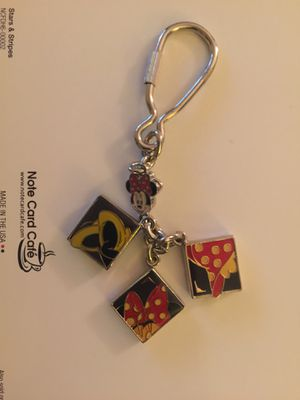 Minnie Mouse Shoe Charm Key Chain for Sale in Casselberry, FL