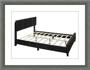Queen bed platform bed with mattress and free delivery for Sale in McLean, VA