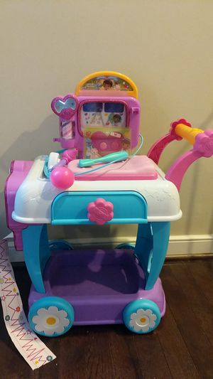 Doc McStuffins Veterinary Cart for Sale in Boyds, MD