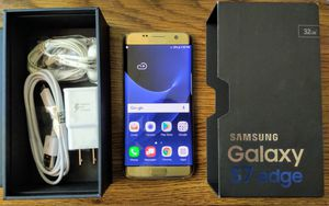 Galaxy S7 Edge 32GB UNLOCKED (Like-New) Gold for Sale in Arlington, VA