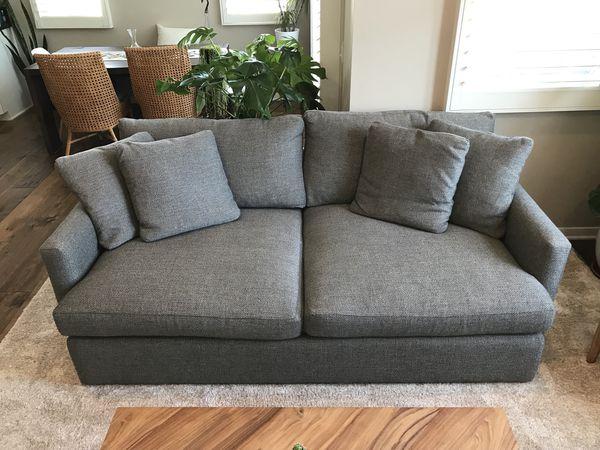 Crate And Barrel Lounge Ii 83 Sofa