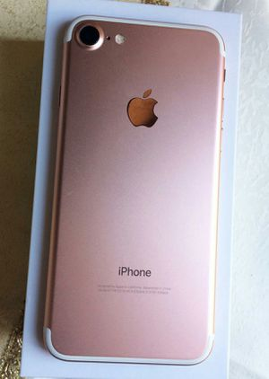 IPhone 7 , 128GB , UNLOCKED . Excellent Condition ( as like New) for Sale in Springfield, VA