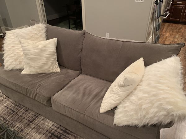 2 Gray Sofas Gently Used Perfect Condition