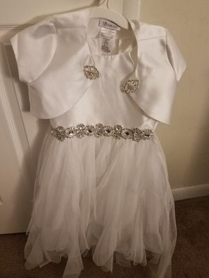 Girls flower girl dresses size 7 for Sale in Apex, NC
