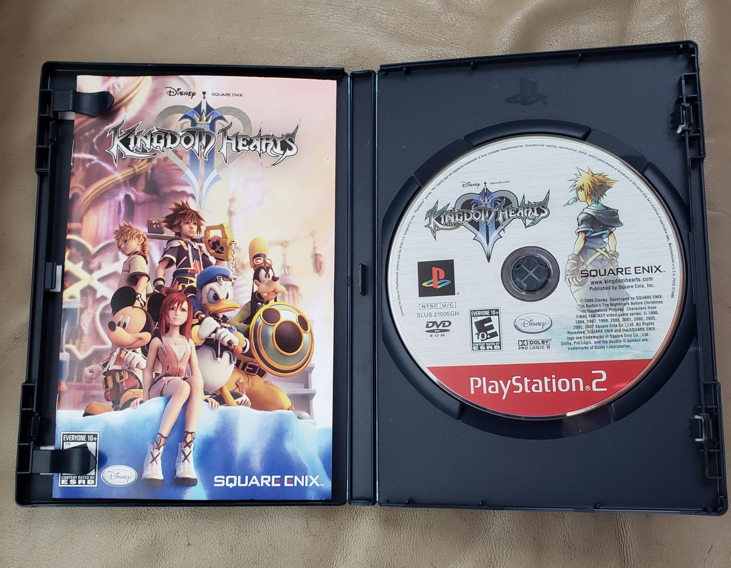 KINGDOM HEARTS PlayStation 2 Greatest Hits video game