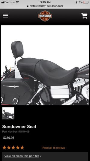 Harley Davidson sundowner 2 up seat Dyna for Sale in Mesa, AZ - OfferUp