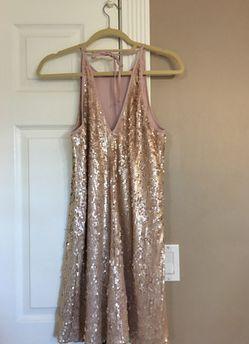 Gold Sequence Dress Thumbnail