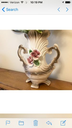 Large Capodemonte Italy Vase for Sale in Apex, NC