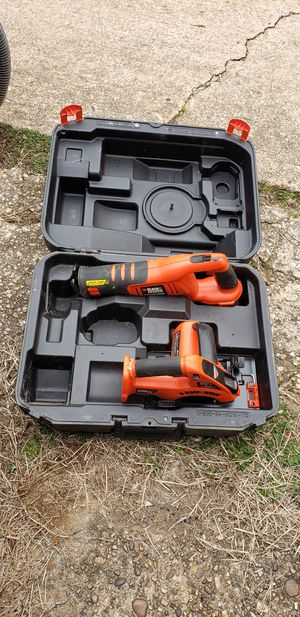 Photo Black and Decker Cordless Tools