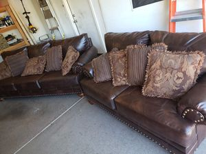 New and Used Leather couch for Sale in Phoenix, AZ - OfferUp