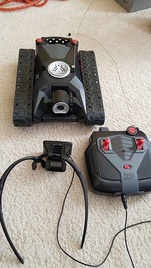 SPY GEAR Remote Control Tank W/Camera for Sale in Springfield, VA