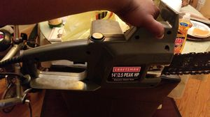"""Craftsman 14""""/2.5 Peak HP Electric Chainsaw for Sale in Washington, DC"""