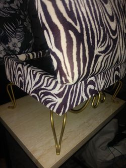 Zebra Printed Jewellery Chest Thumbnail