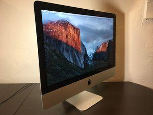 iMac 21.5 inch late 2015 for Sale in Salt Lake City, UT