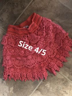 Girls size 4/5 and 5. Assorted Thumbnail
