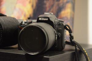 Nikon D90 DSLR Camera with 18-55 mm Lens for Sale in McLean, VA