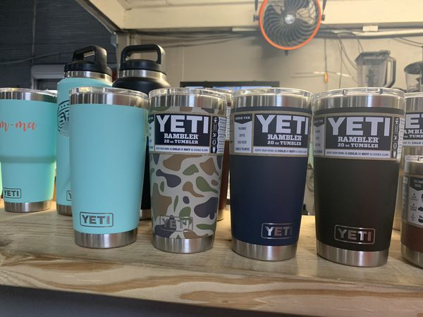 26ad2cfc43c Custom 20oz yetis available for customization! $30 includes the custom  decals! for Sale in San Antonio, TX - OfferUp