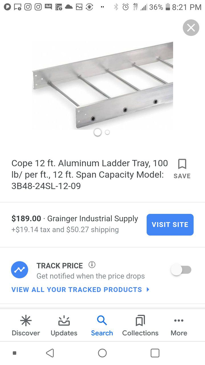 Cope wire support straight ladders