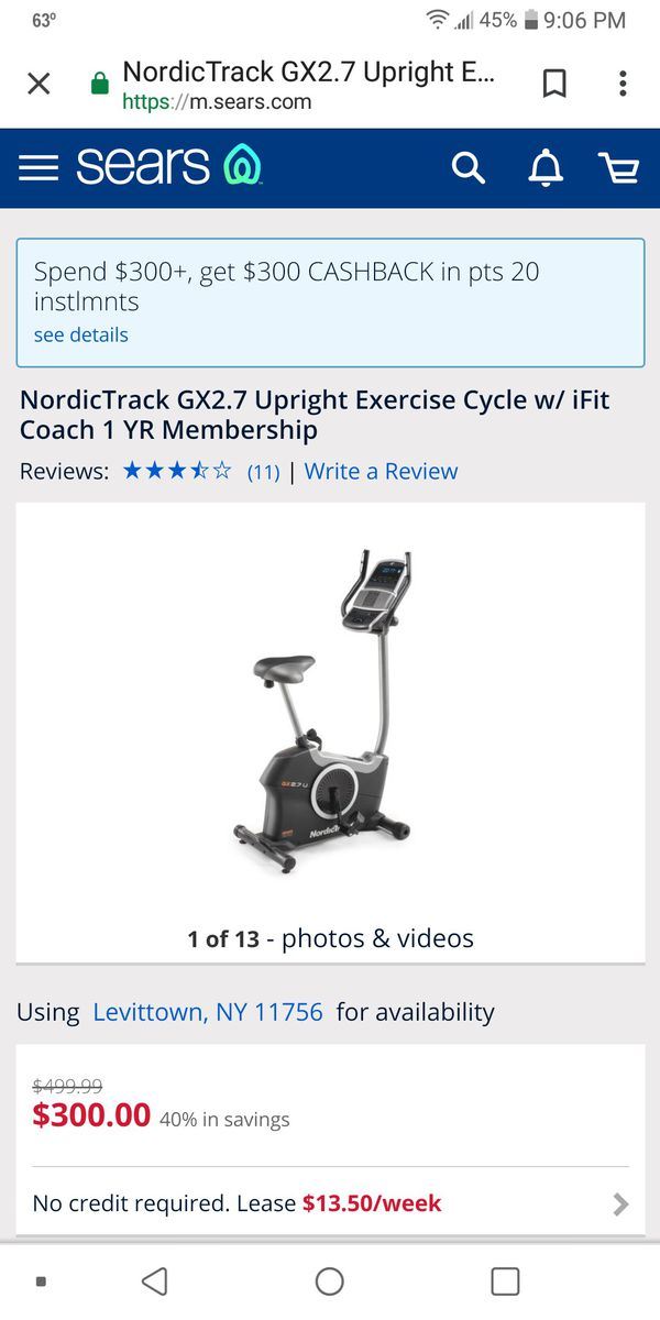 Exercise bike for Sale in New York - OfferUp