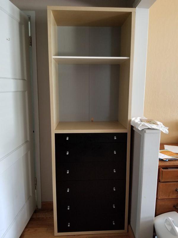 Ikea Magiker Bookshelf With Drawers For Sale In San Lorenzo Ca