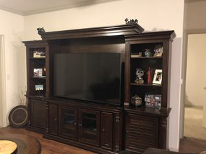 Moving and downsizing- Living Room Furniture & 55' TV for Sale in Austin, TX