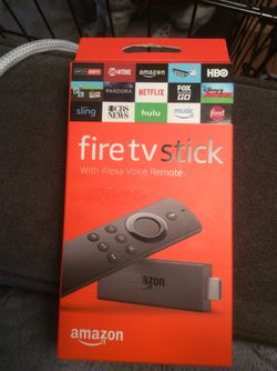Amazon Fire TV with Alexa Voice Remote (Second Generation) Thumbnail