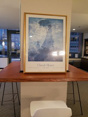 Professionally Framed Print from Art Institute of Chicago for Sale in Chicago, IL