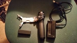 DJI Handle Kit for OSMO Handheld Includes Battery Charger and Phone Holder for Sale in Fairfax, VA