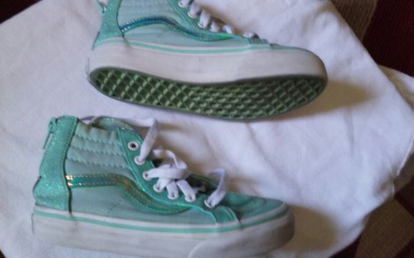 47b9c3fff4 Size 12.5. Girls vans used. Cheyenne and Decatur pickup for Sale in ...