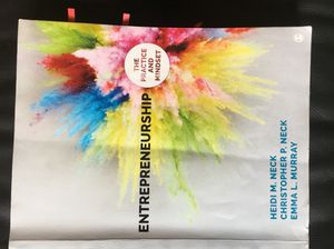 UTD Textbook: Entrepreneurship: The Practice and Mindset for Sale in Dallas, TX