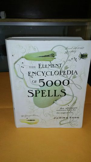 The Element Encyclopedua of 5000 Spells for Sale in Miami, FL