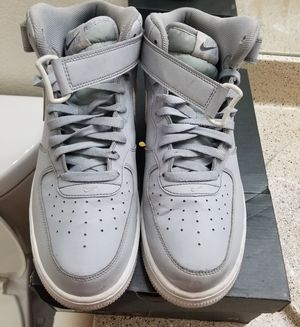 6055e06afd01ad Grey air force 1 size 11.5 for Sale in Mesa