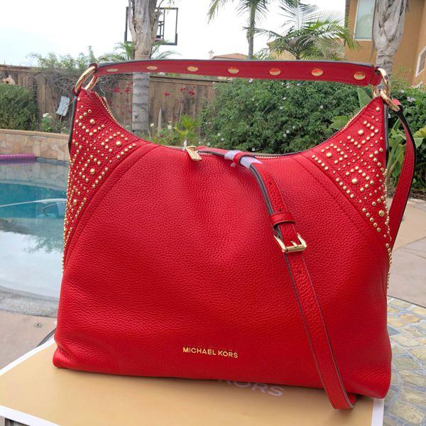 68e4fe70d0244f Michael Kors Aria DK Sangria Bag / Purse for Sale in San Diego, CA ...