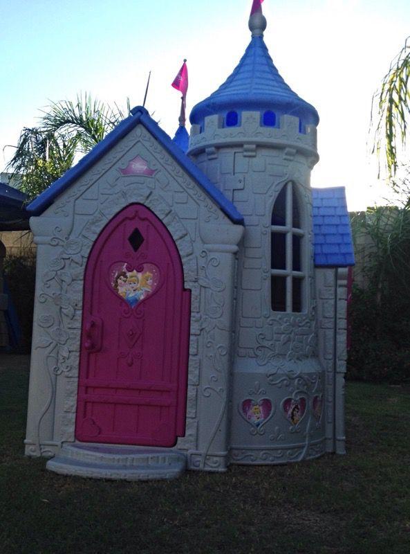 Disney Princess Wonderland Castle Playhouse Amp Slide