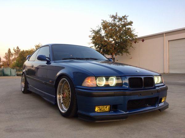 BMW e36 m3 1996 Estoril blue / red Vader seats 132k Miles for Sale in San  Francisco, CA - OfferUp