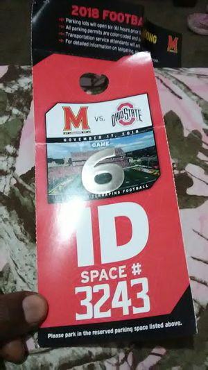 2018 Football Parking for Sale in Brentwood, MD