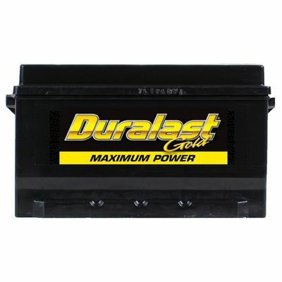 New Duralast Gold Battery Part Number 96r Dlg From Autozone With