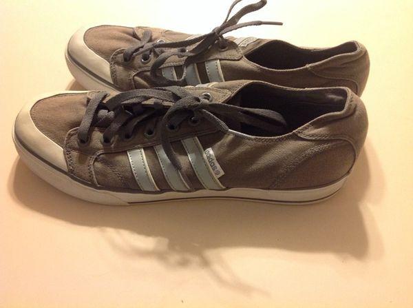venta de liquidación precio justo último vendedor caliente Adidas Vibetouch Grey Canvas Tennis Shoes Mens US 12 COMFORT for ...