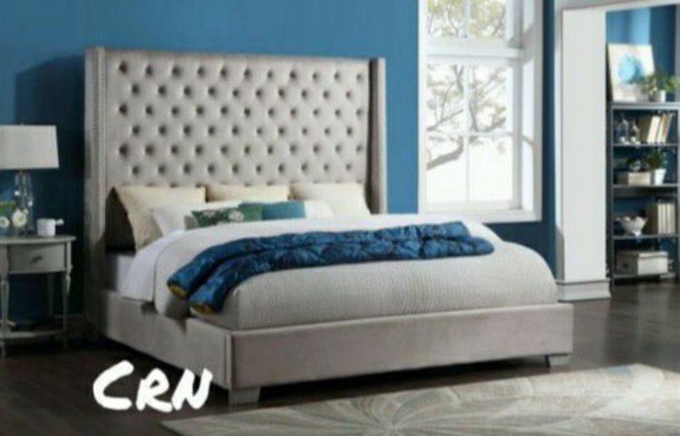 Hii🌾🌾6FT King or Queen Bed 🤩/ King 599 Queen 549🧚♂️Only $39 Down🌾