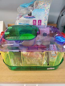 Hamster set-up Thumbnail