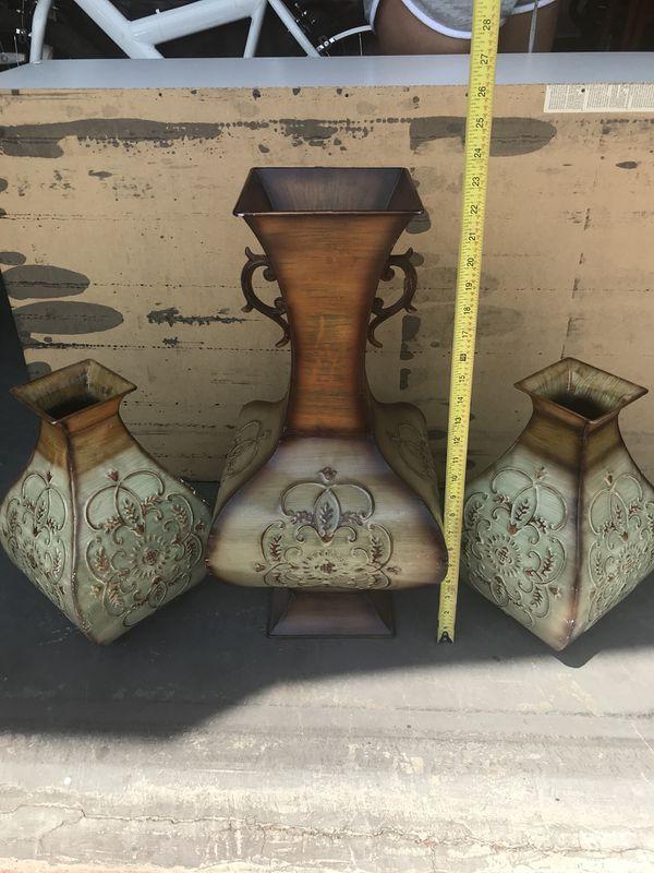 3 Kirkland Vases Florencia Style Household In Las Vegas Nv Offerup