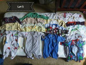 20 newborn boy footie pjs for Sale in Frederick, MD