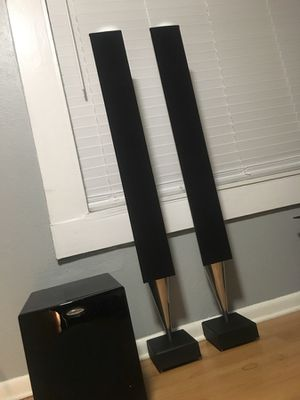 Bang & Olufsen speakers with sub for Sale in Tampa, FL