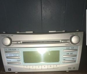 2007 Toyota Camry Stereo/Radio system for Sale in UPR MARLBORO, MD