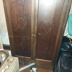 Antique Wardrobe Thumbnail