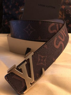 Louis Vuitton supreme Belt for Sale in Silver Spring, MD