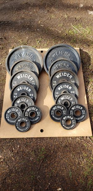 Photo Weider International Olympic Weight Plates