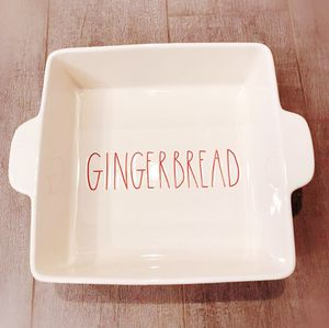 Christmas Red LL Rae Dunn Gingerbread Bake Dish for Sale in Lincolnia, VA